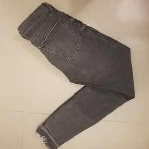 Zara Faded Black / Grey Skinny Jeans size 4